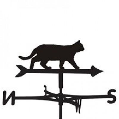 Prowling Cat Weathervane