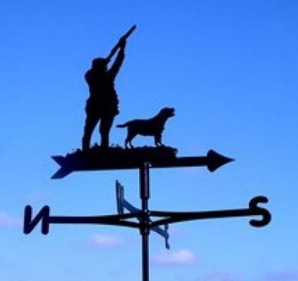 Shooting Cottage Weathervane