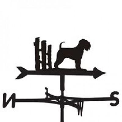 Irish Soft-Coated Wheaten Terrier Weathervane
