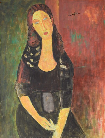 """After Amedeo Modigliani"""
