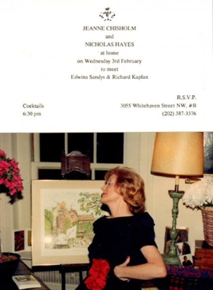 Edwina Sandys at Chisholm Gallery, Washington DC, 1989