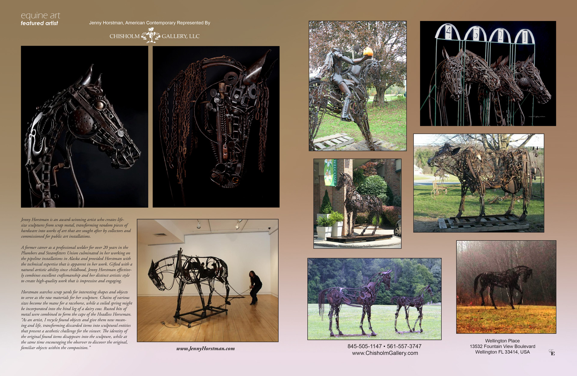 Equine Art September - Jenny Horstman - Chisholm Gallery