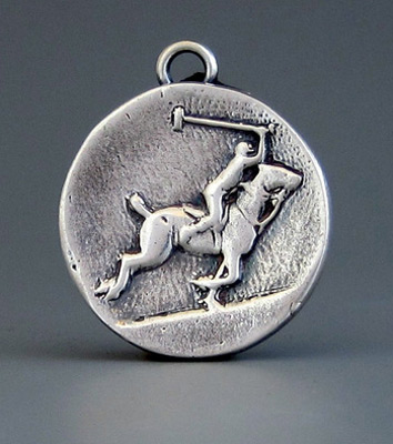 """Polo Charge"" 7/8"" Diameter, Price: $179, Chisholm Ref. #: S-SH4 