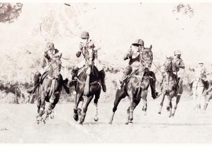 """British Polo Day 2"" Jodhpur, India 2013, Archival pigment print on rag, 16.5 x 11.7 inches"