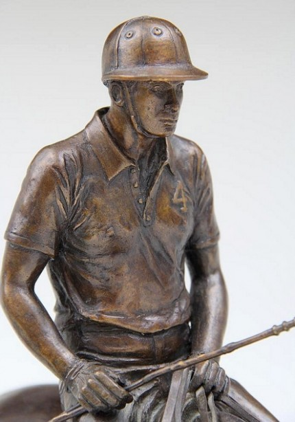 """Game's End"" Bronze, Inscribed & Signed"
