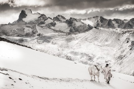 """""""Recorrida de Invierno"""" (Winter Rounds), 2009, Print on archival fine art paper, Edition: 5/12, 43 x 65 inches, Singed & Numbered"""