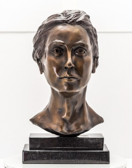 """Bust IV"" Bronze, Numbered, Signed & Dated"