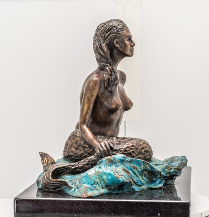 """Mermaid"" Bronze, Numbered, Signed & Dated"
