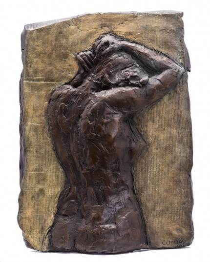 """Nude Relief II"" Bronze, Numbered, Signed & Dated"