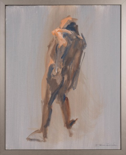"""Figure VI"" Oil on canvas, Signed"
