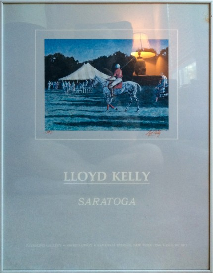 """Lloyd Kelly, Saratoga"" Poster"