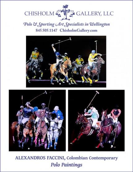 "Alexandros Faccini ""Polo Paintings"""