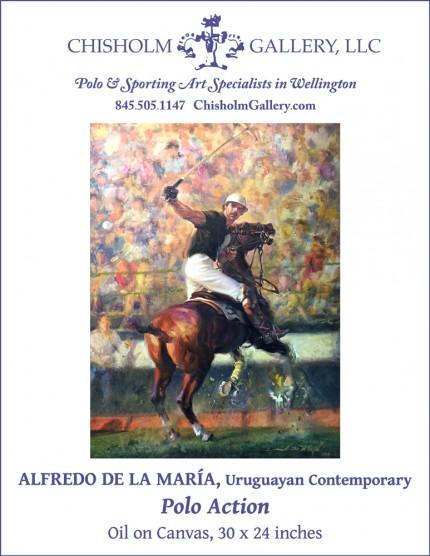 """Alfredo de la Maria """"Polo Action"""""""