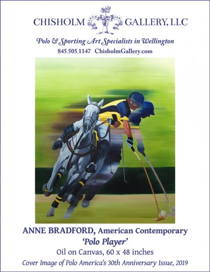 "Anne Bradford ""Polo Player"""