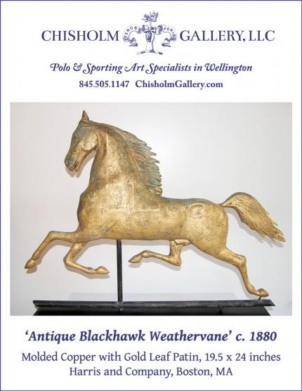 """Antique Blackhawk Weathervane"""