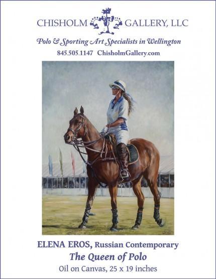 """Elena Eros """"The Queen of Polo"""""""