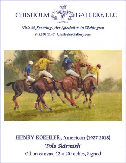"Henry Koehler ""Polo Skirmish"""
