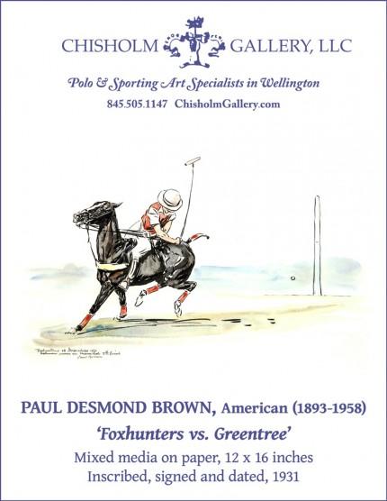 "Paul Desmond Brown ""Foxhunters vs. Greentree"""