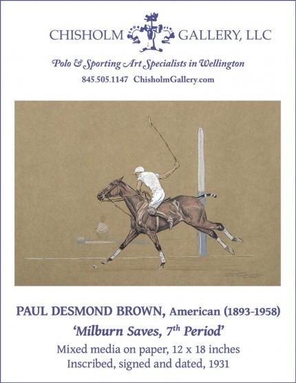 "Paul Desmond Brown ""Milburn Saves, 7th Period"""