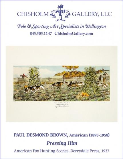 """Paul Desmond Brown """"Pressing Him"""""""