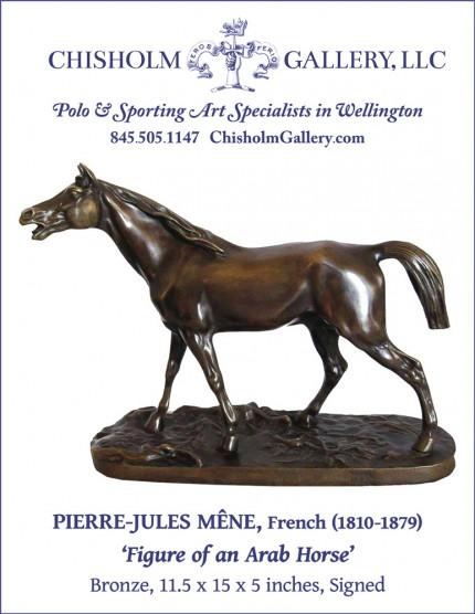 "Pierre-Jules Mêne ""Figure of an Arab Horse"""