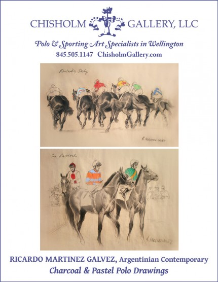 "Ricardo Martinez Galvez ""Horse Racing Drawings"""