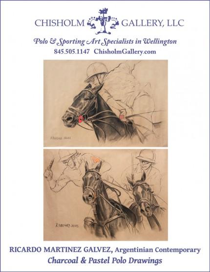"""Ricardo Martinez Galvez """"Polo Drawings"""""""