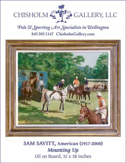 "Sam Savitt ""Mounting Up"" Sold"