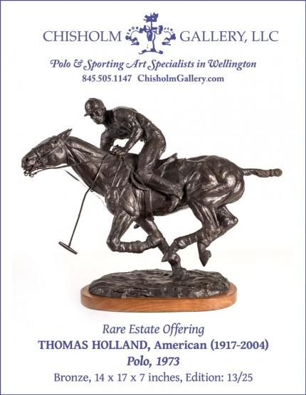 """Thomas Holland """"Polo, 1973"""" Sold"""