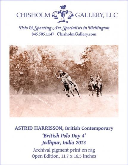 "Astrid Harrisson ""British Polo Day 4"""