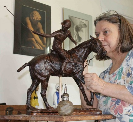 """""""Reverse Play"""" Bronze, Edition 1/5 