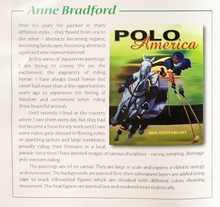 Anne Bradford-Polo America-30th Anniversary-Feature