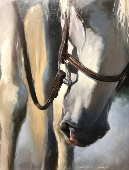 """""""Headed Home"""" 14 x 11 inches, Oil on board, Signed"""