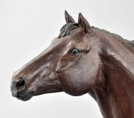 """""""Northern Dancer"""" Cold Cast Bronze, Edition of 850, 16 x 20 inches, 12 lbs, Signed & Numbered"""