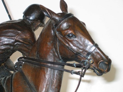 """""""Polo"""" Bronze, Edition: 3/10, Signed, Dated & Numbered"""