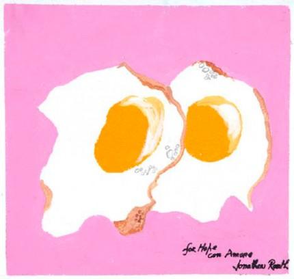 HENRI et MICHELLE OEUF-FRIT (CAP FERRAT 1950) (1958)