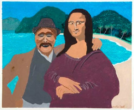 LEONARDO da VINCI and MONA LISA on Holiday at ROUND HILL in JAMAICA (THEY CAME TOURIST CLASS on COLUMBUS's SECOND VOYAGE)