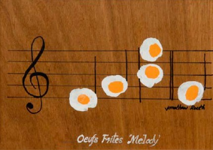 Oeufs Frites 'Melody'