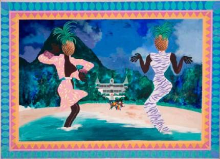 Pineapple Head Girls Dancing