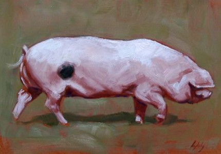 """""""This Little Piggy went to the Market"""" Limited Edition Print"""