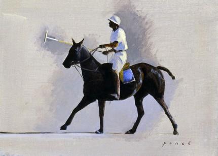 """""""Hani Jamil Saud Jamil Abdul-Hamid"""" 2005, 10 x 13 inches, Oil on canvas on panel"""