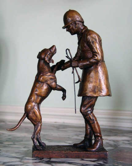 """Huntsman and Hound"" Bronze"