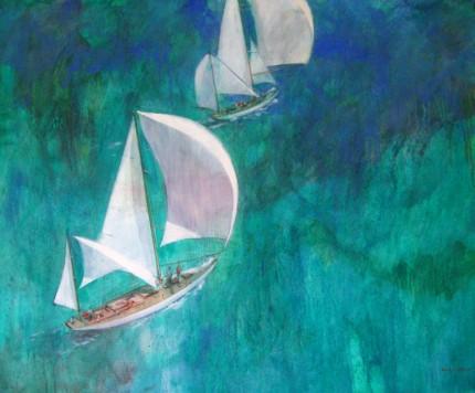 """""""Two Sailboats"""""""
