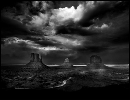 Monument Valley, 2008, Limited Edition of 25. 12x16 inches, Limited Edition of 25. 22x28 inches, Limited Edition of  8. 44x52.5 inches, Printed on Hahnemuhle Photo Rag 308g Fine Art Archival paper.