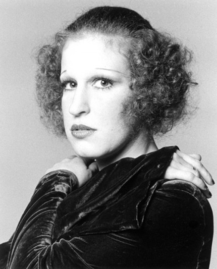 """""""Bette Midler, 1972"""" Hollywood Women Portfolio, 20 x 24 inches 