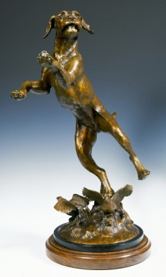 """""""First Time Out"""" Bronze, Edition of 25, 36 x 26 x 17 inches, Signed"""