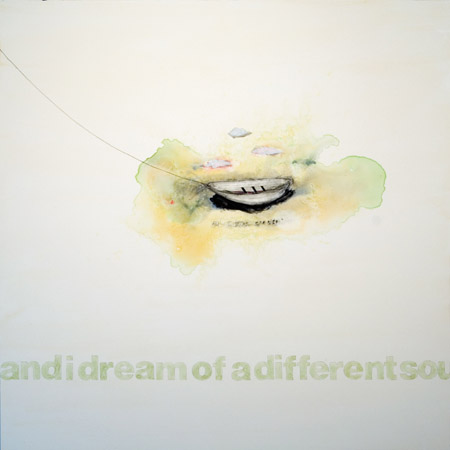 """And I Dream of a Different Soul"" m/m, 36 x 36 inches"