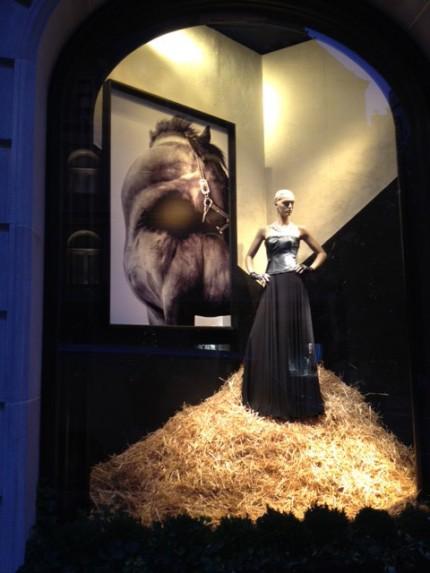 """""""Dynamic"""" in Ralph Lauren window"""