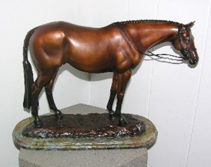 """Show Hunter"" Edition: 14/25, Bronze, Signed, Inscribed & Numbered"