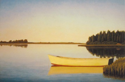 """3 Mile Harbor, East Hampton"" 2003, Limited Edition Print, Edition of 100, 13.75 x 20.5 inches, Signed & Inscribed"